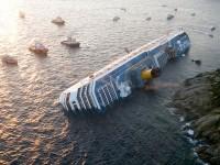 Capsizing Ship